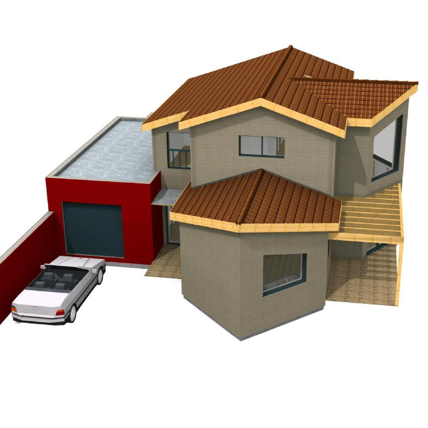 Avbois projets de construction et agrandissement maison bois - Gros oeuvre d une maison ...